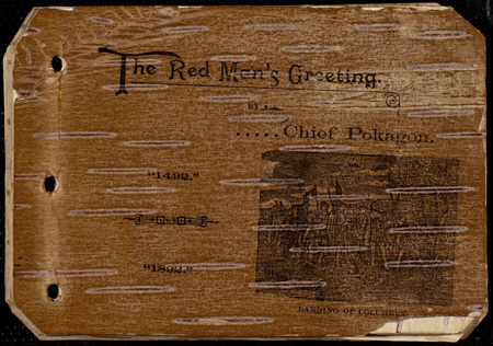 The Red Man's Greeting front cover