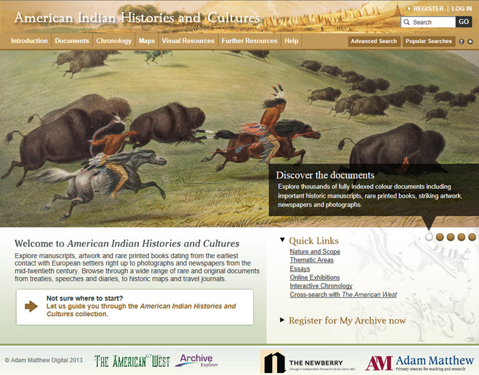 an introduction to the history of the domestication of the north american frontier An introduction to saa saa is poised at the forefront of the electronic frontier the american archivist provides a forum for north american archival.