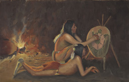 Discover representations of American Indians in artwork